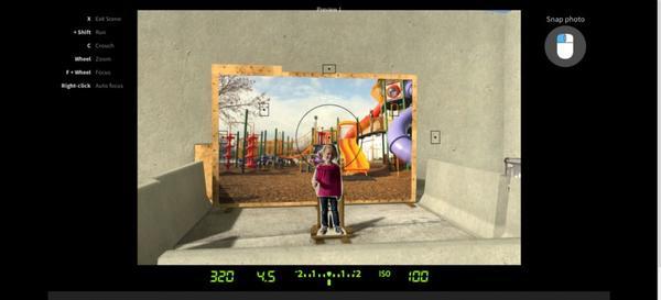 全新學習攝影的方法…玩線上遊戲?