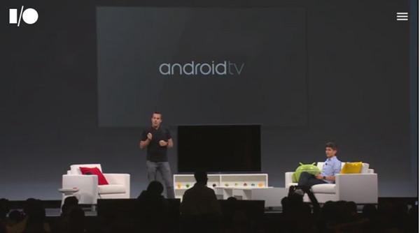 強調基於與手機、平版共用開發資源, Google 發表 Android TV