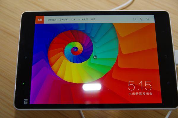 首款 Tegra K1 市售終端,小米平板 16GB 版 7 月 1 日於中國開放預購