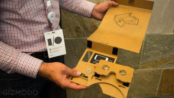 臉書接招!Google 推出紙箱戰士...的頭盔之虛擬實境頭戴顯示器 Cardboard