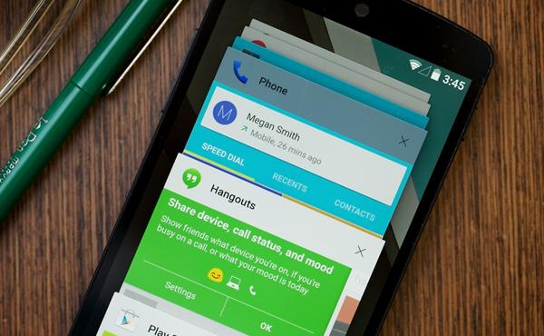 """""""Android L"""" 用起來就是這樣: 令手機更「好玩」, 新功能極方便 [圖庫+影片集]"""