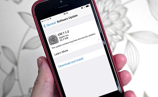 iOS 7.1.2 正式推出, 帶來幾個錯誤修正