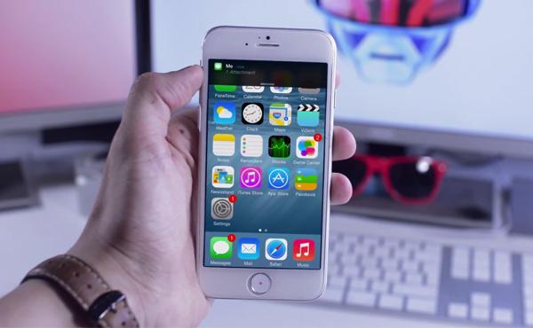 iOS 8 在大螢幕的 iPhone 6 運行, 效果就是這樣 [影片]