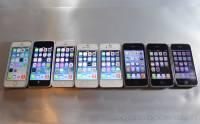 全球手機銷量排行榜: iPhone 5s 第一位 幾年前的舊 iPhone 依然極受歡迎