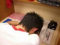 圖書館裏的睡姿百態