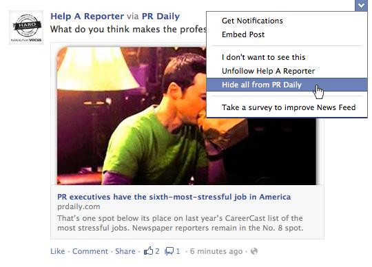 Facebook 經常出現同一品牌的廣告? 教你一按永遠消失