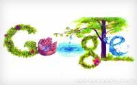 打開 Google 首頁 今天的 Google 標誌出自香港一個中學生