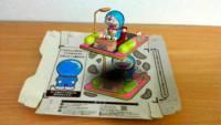 自己的哆啦A夢自己畫,超酷的餅乾紙盒擴增實境