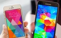 Apple Samsung 旗艦戰有結果: iPhone 5s 擊敗 Galaxy S5 成為世界最強