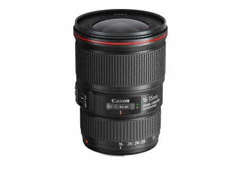 Canon F4 小三元鏡補齊, EF 16-35mm f4 IS USM 正式發售