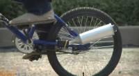 為單車添加「排氣管」 踩得越快越響亮