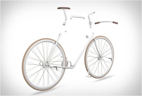 收起來比小折更輕巧!Kit Bike 圓形自行車包
