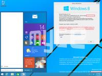 疑似 Windows 開始功能表穢土轉生以後的大概樣貌...