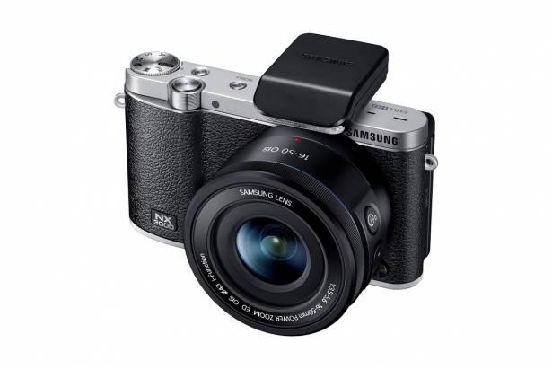 三星在台推出復古型無反光鏡可換鏡頭相機 NX3000