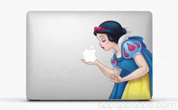 Apple 新廣告: 他們也超愛這些 MacBook 創意貼紙 [影片]