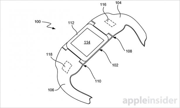 """Apple 新專利搶先展示 iWatch: 名稱叫 """"iTime"""", 詳細描述規格和功能 [圖庫]"""