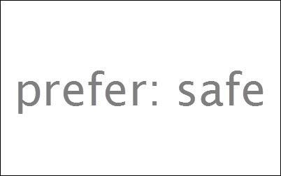 Prefer:Safe — 讓 Firefox 的線上安全更簡單