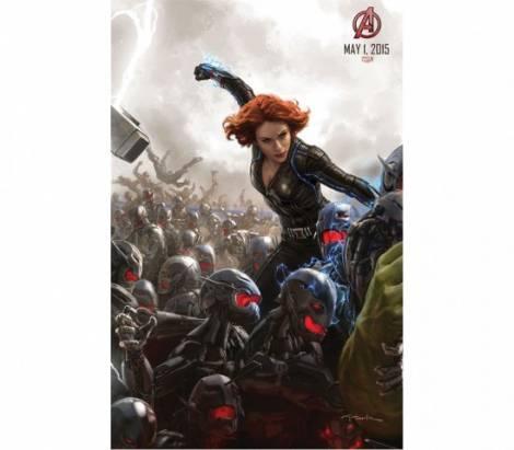 Avengers 2 官方新圖曝光: 拼圖組合成令人期待的戰鬥場面