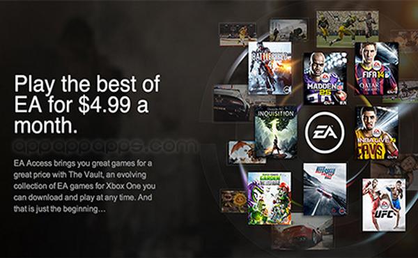以後不用買 game? EA 創新訂購模式, $5 美元任玩旗下大作