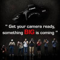 Canon 印度貼出新品預告宣傳,大物即將降臨?