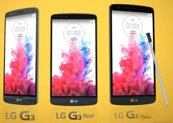 LG G3 系列將推出主打觸控筆的中階機種 G3 Stylus