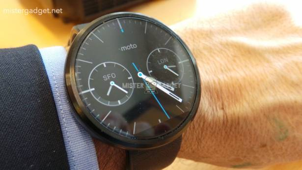 所有智能手錶都應該像 Moto 360 這樣充電 [圖庫]