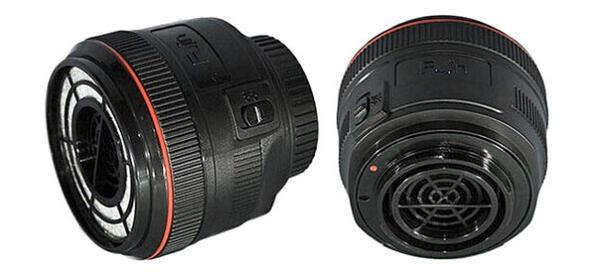 偽裝成鏡頭的 dSLR 除塵吸吸風扇