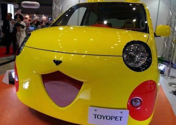 超引人注目的神奇寶貝車款,開起來速度是不是也電光一閃呢?