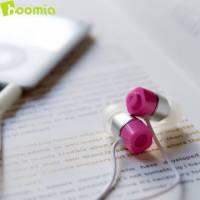 hoomia Bon 2.3 樂高積木耳機- 粉紅