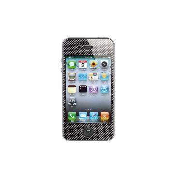 iPhone4/4S-碳玻纖背貼-碳黑色