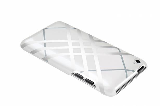 iPod touch-經典格紋背蓋-珍珠白