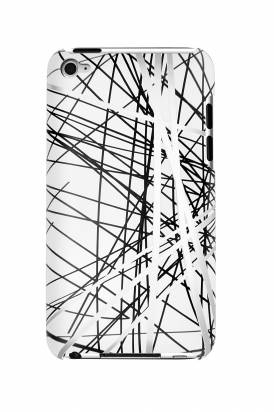 iPod touch-塗鴉藝術風背蓋-珍珠白
