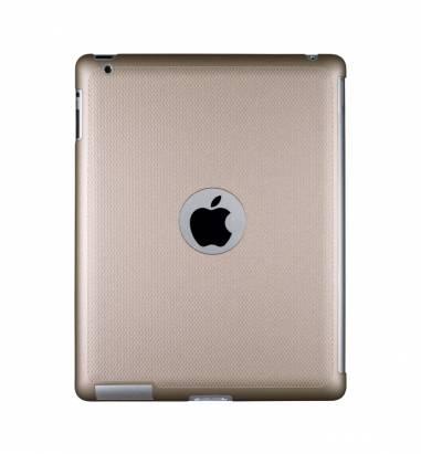 iPad2-珠光硬殼背蓋-香檳金