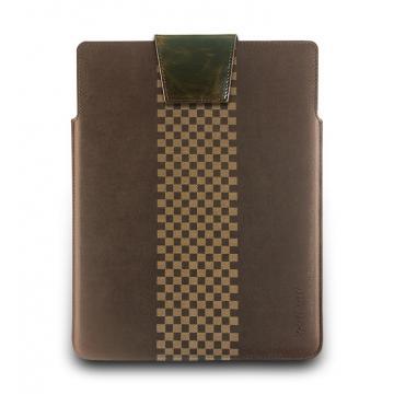 iPad2-復古瘋馬皮套-摩卡棕