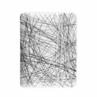 iPad1-Sketch Series-藝術風背蓋-珍珠白