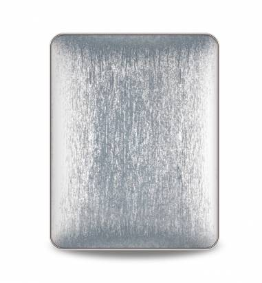 iPad1-Corium Series - 玻纖背蓋-璀璨銀