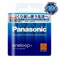 Panasonic低自放鎳氫充電電池 3號4入