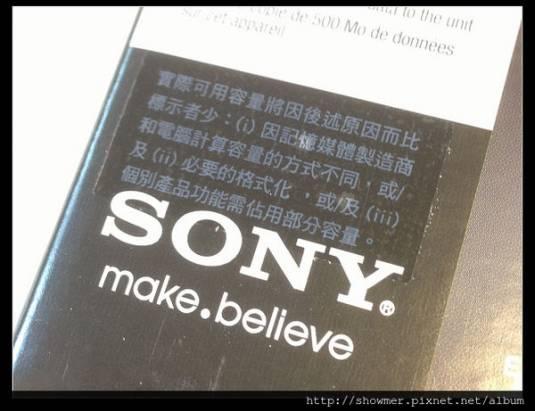限量是殘酷的 SONY 1TB USB3.0 外接式硬碟 限量版