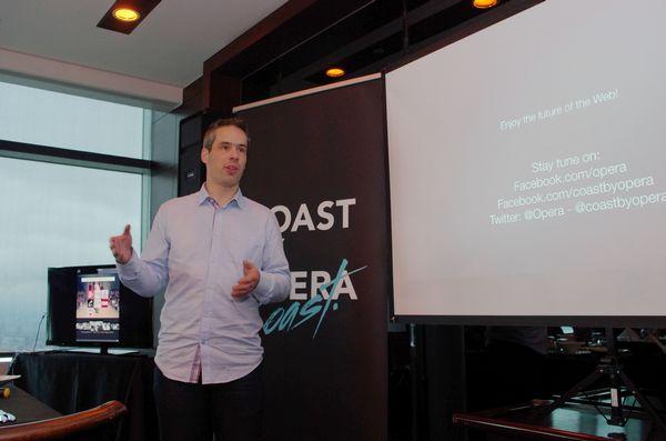 Opera Coast 開發主持人與來台分享設計理念,預測網站 app 化時代將近