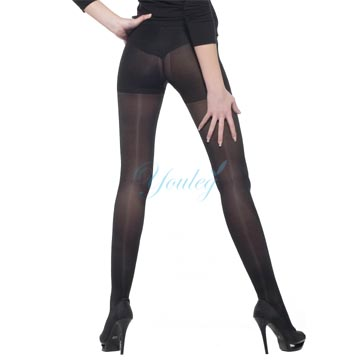 200 Den 彈性褲襪 - 黑色(二雙入)