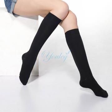 280 Den 彈性小腿襪 - 黑色(四雙入)