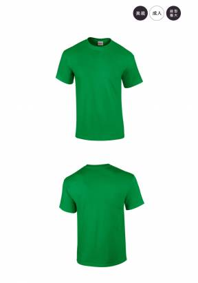 美國第一品牌GILDAN 圓筒短袖素面T-Shirt(5件)