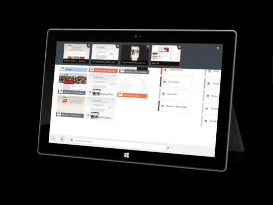 現可測試 Firefox for Windows 8 Touch Beta