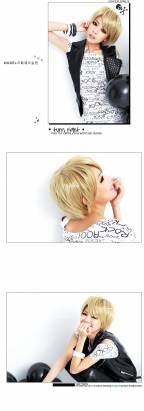 【LW101E】土屋安那搖滾ROCK視覺系短髮