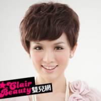 【LW105BBHH】名女人極短俐落型斜劉海短髮 預購