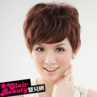 【LW18097HH】柒零年代復古絕世美人短髮 預購