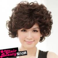 【LWD130A】笑臉盈人好氣色媽咪蓬鬆短卷髮