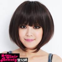 【LW201AE】美式舞台風小碎齊瀏海髮BOBO短髮