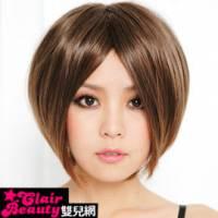 【LWA018】上戶彩中分俏麗短直髮
