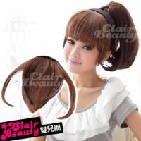 【A004Y】耐熱纖維-ㄇ字型平瀏海-髮箍式